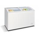 WD-290Y Chest freezer with slanting, sliding and convexed glass door