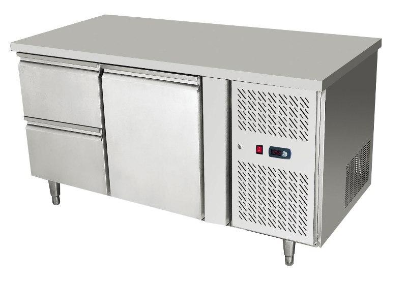 EPF3422 D2 - Hladni radni sto (1 vrata + 2 fioke)
