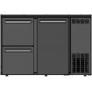 DCL-32 MU/VS - Bar cooler with 1 door, 2 identical drawers