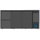 DCL-322 MU/VS - Bar cooler with 2 doors, 2 identical drawers