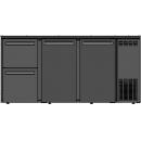 DCL-522 MU/VS - Bar cooler with 1 door, 2-2 different drawer