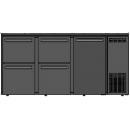 DCL-552 MU/VS - Bar cooler with 1 door, 4 different drawer