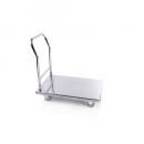 S406 - Stainless steel platform trolley