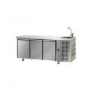 TF03MIDGNL | Hladni radni sto sa 3 vrata (GN 1/1) i elementom za pranje ruke