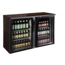 TC-BB-2GDR Double glass door bar cooler