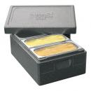Thermo box for three ice cream pans