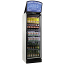 J-400 GD DT F - Glass door cooler with canopy