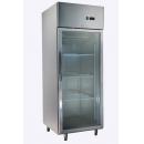 GNC740L1G - INOX glass door cooler