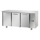 TF03EKOSG - 3 door refrigerated worktable with internal aggregat GN 1/1