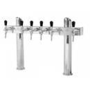 Tower T - 6 taps beer tower with 2 body