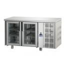 TF02MIDPV | Hladni radni sto sa staklenim vratima GN 1/1
