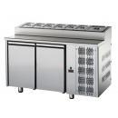 TF02MIDGNSK | Snack hladni radni sto GN 1/1 sa gornjim hladnjakom