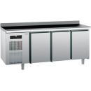 KIBBA | Hladni radni sto sa zadnjom podignutom ivicom GN 1/1