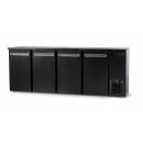 DCL-2222 MU/VS - Bar cooler 4 solid doors