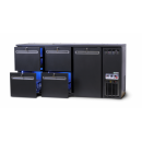 DCL-332 MU/VS - Bar cooler with 1 door, 4 identical drawers