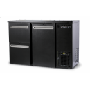 DCL-52 MU/VS - Bar cooler with a door, with 2 different drawers
