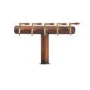 Halm BP | Toranj točilice bez slavina i logotipa - 2-7 tapa