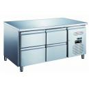 KH-GN2140TN - Refrigerated worktable with 4 drawers