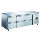 KH-GN3160TN - Refrigerated worktable with 6 drawers