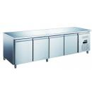 KH-GN4100TN - Refrigerated worktable with 4 doors