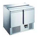 KH-S900 | Hladni radni sto za salate sa otvarajućim poklopcem