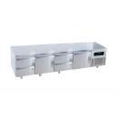 USN4-R290 | Hladni radni sto sa 4 vrata