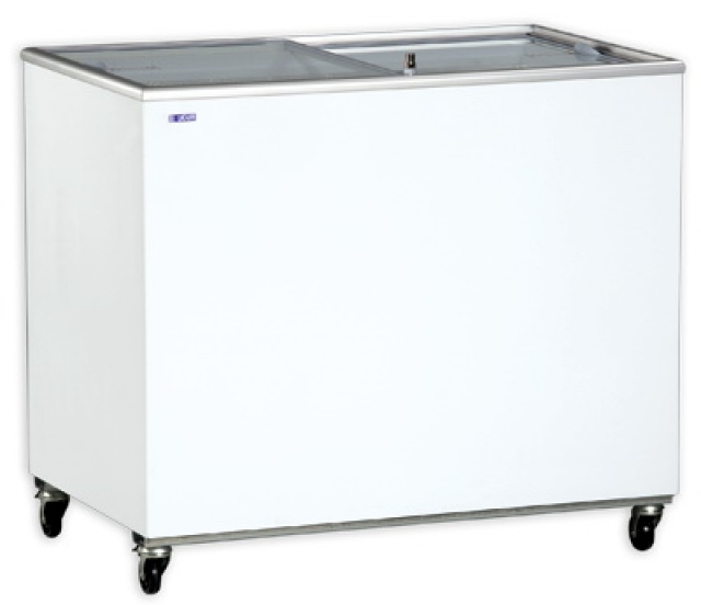 Udd 300 Sc Chest Freezer With Sliding Glass Door