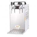 KONTAKT 70/K Green Line - Dry contact double colied beer cooler with built-in air compressor