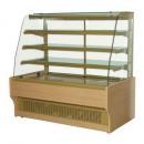 WCHCN 1,0 | Vitrina za poslastičarnice sa drvenom oblogom