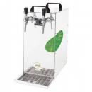 KONTAKT 155/K Green Line - Dry contact double coiled beer cooler with built-in air compressor