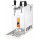 PYGMY 20/K - Točilica za pivo sa suvim hlađenjem i ugrađenim vazdušnim kompresorom, 1 tap
